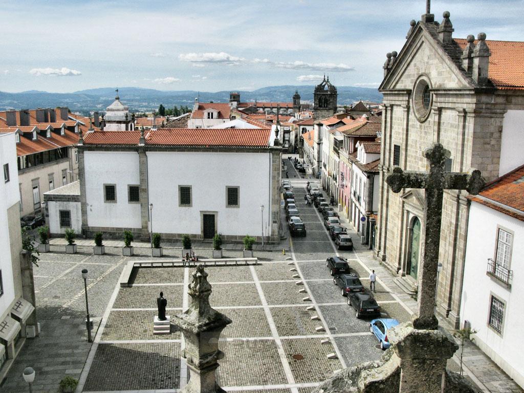 Braga plaza iglesia
