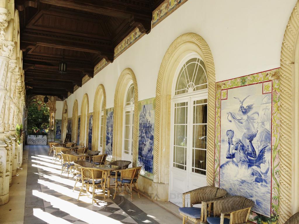 Arquitectura interior Parque Nacional de Bucaco