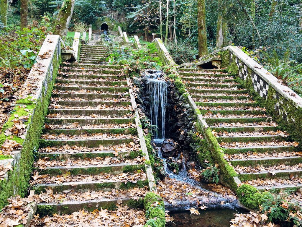 Escalinata Parque Nacional de Bucaco