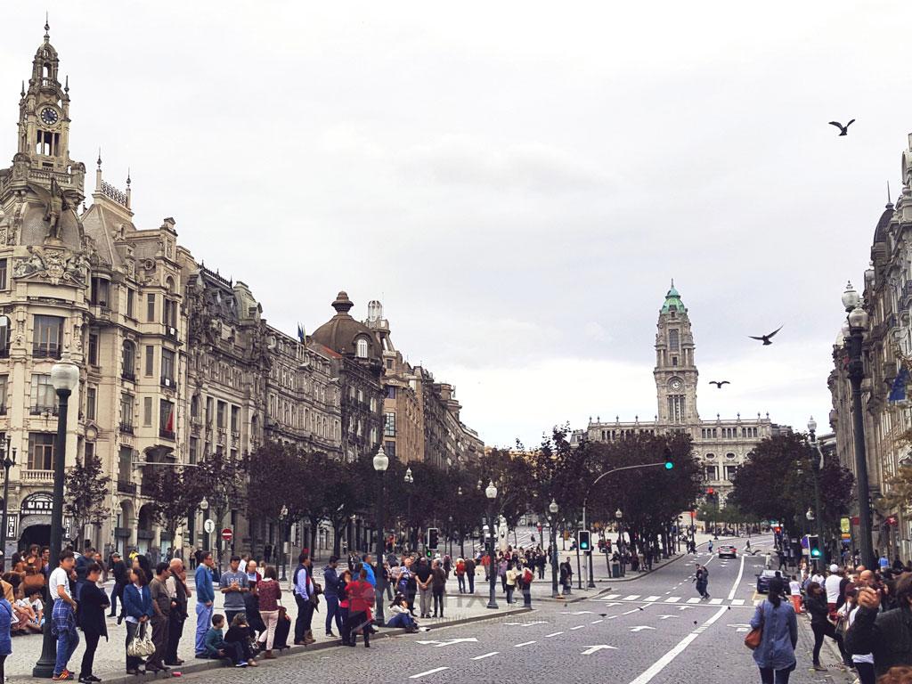 Porto centro plaza