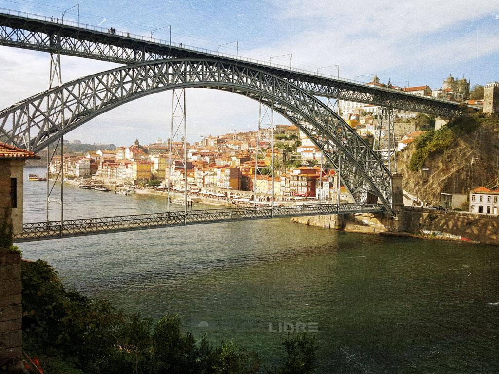 Porto Riveira puente viejo