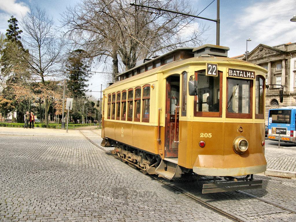 Porto Riveira tranvía