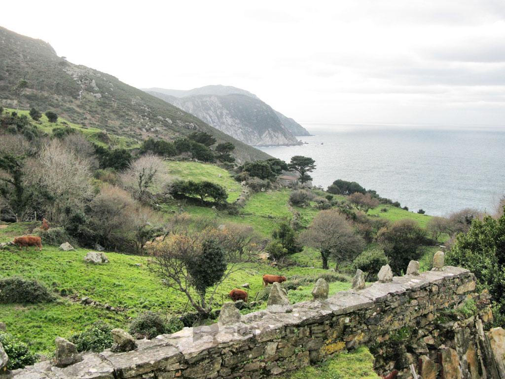 San Andrés de Teixido ladera