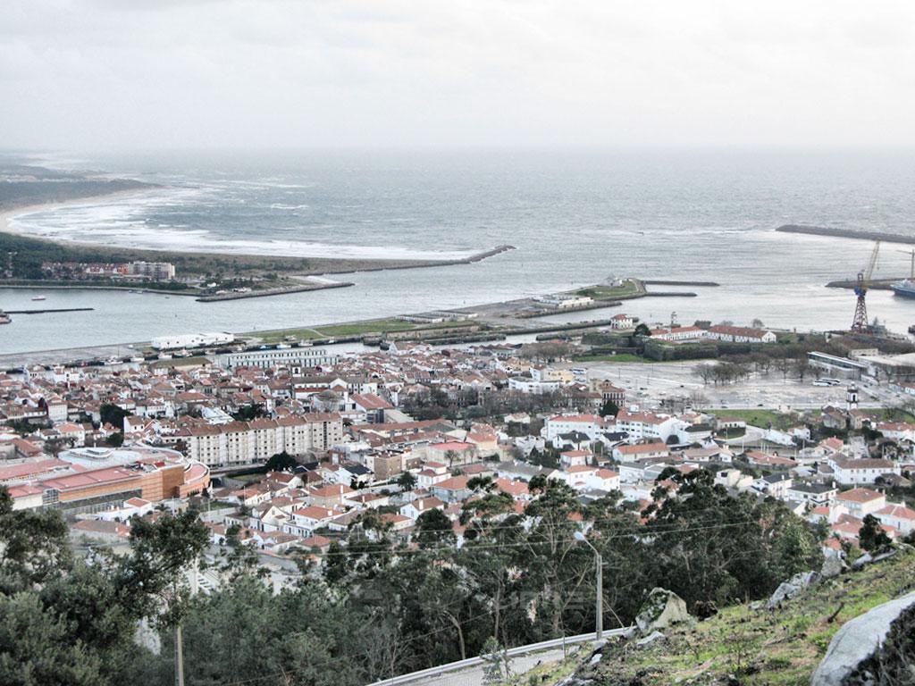 Viana do Castelo desembocadura