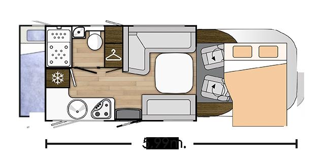 Distribución Interior Mileo 263